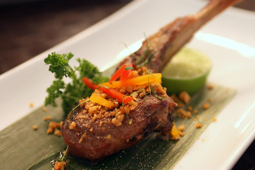 Garlic Lamb Chop