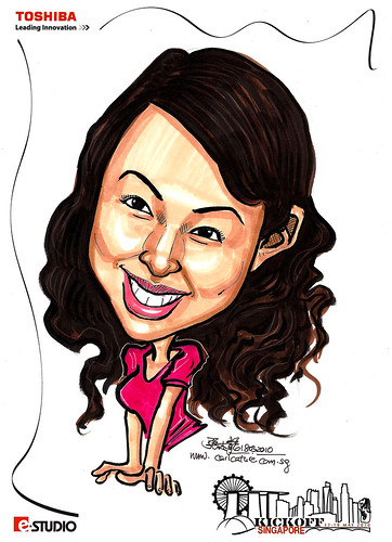 Caricature of Mirii