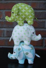 Circus Act Ollies (birds of a heather) Tags: toys sewing elephants heatherbailey niceyjane