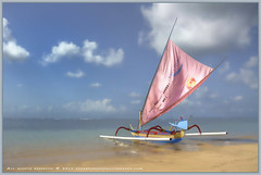 Dreamy days (Clearvisions) Tags: pink blue bali beach water clouds indonesia three sand holidays asia gallery 10 arts fluffy award special angels elite sail winners visionary honors elis the photogallery clearvision dreamydays doublyniceshot tripleniceshot mygearandmegold mygearandmeplatinum mygearandmediamond clearvisionsphotography clearvisions