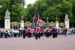 ISB120 2011 030 (Howard.) Tags: london official crowd band flags parade musical marching instruments impressive 2011 regimented staffband isb120
