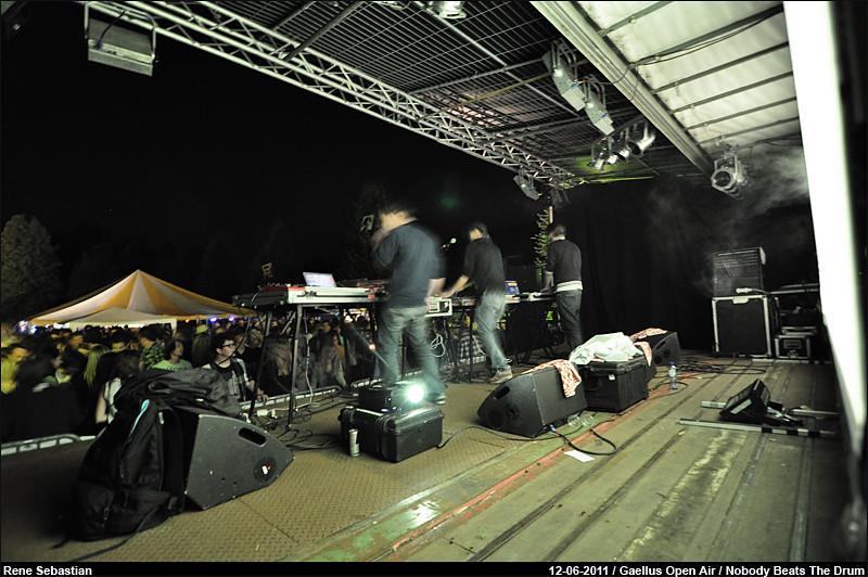 Nobody Beats The Drum @ Gaellus Open Air '11