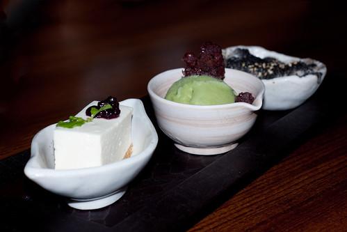Japanese Dining Sun - Dessert Trio