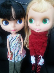 129/365 What shall we do this weekend? (sozzielou) Tags: dress arcade vincent button ba friday edna 365blythe