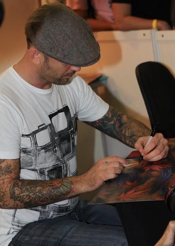 1st Tattoo Show in Singapore 2009 Chris Garver