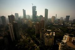 bomazuil (namielus) Tags: urban india smog haze construction skyscrapers pollution bombay maharashtra mumbai luxury tardeo imperialtowers tardev shapoorjipallonji