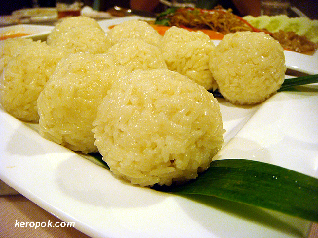 Mock Chicken Rice Ball