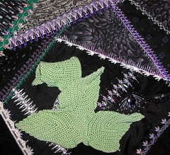 Leaves - crocheted