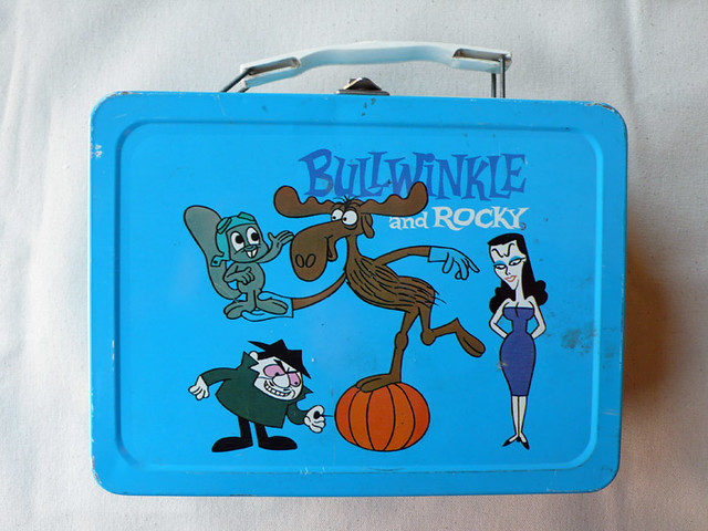 Bullwinkle and Rocky Lunchbox