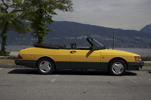 1991 900 Turbo convertible SE in Monte Carlo Yellow