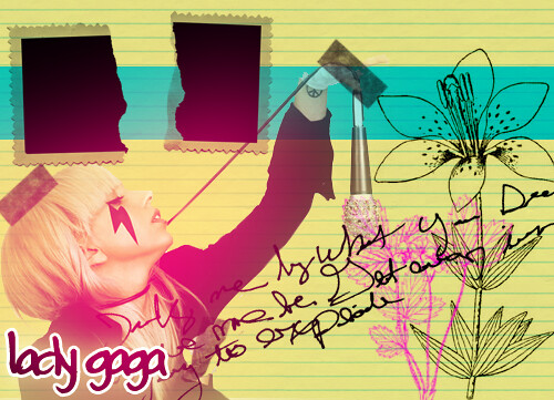 Lady Gaga by KAT DE LUXE.