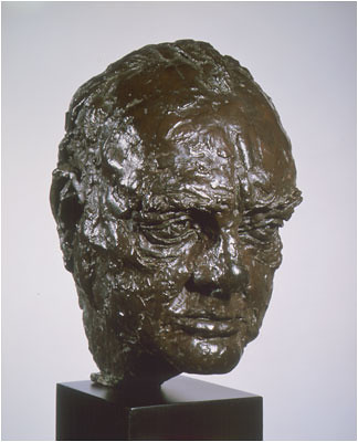 Will Churchill go bust in the Oval Office? Sorry: will Churchill's bust go from the Oval Office?