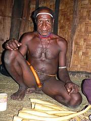 koteka salesman (tjontheroad1) Tags: portrait indonesia penis valley papua baliem sheath koteka