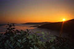 Germany, Eifel, sunrise at Ahr Valley (Eifeelgood) Tags: beautiful silhouette sunrise germany relax bestof spirit earth magic favorites places selection best eifel silence lovely myfavorites ahrvalley ahrtal magicplaces eifeelgood magiceifel