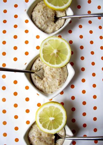 Semolino alla nocciola e limone