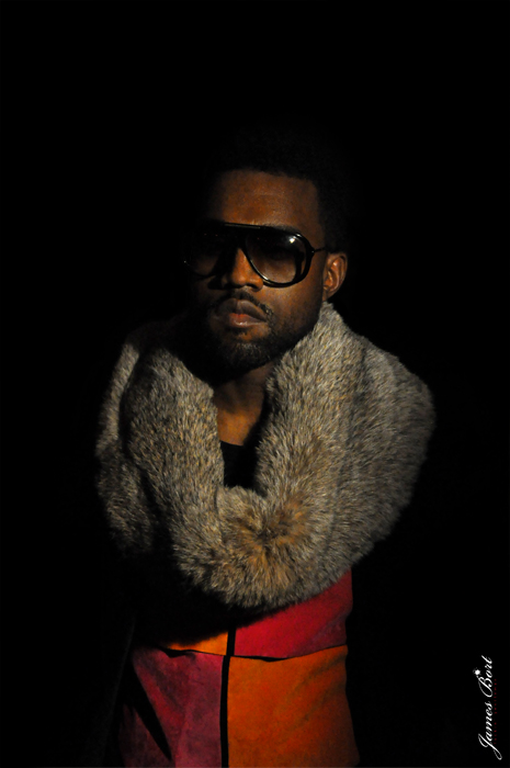 kanye west by james bort, james bort, dior