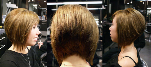 Hair Obsessed: Short Angled Bob Haircut With New Wispy