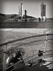 makin of (Bous Castela) Tags: canon esculturas paisaje salinas escaleras fotografo fotografiando barandilla anclas museodelasanclas bouscastela