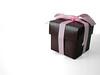 Wedding Favors (ALM Portraits) Tags: pink wedding brown white box chocolates whitebackground ribbon favor weddingfavor