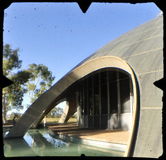 The Shine Dome, Australian Academy of Sciences, Canberra)TTV-090124-181-H) (heritagefutures) Tags: light copyright architecture modern concrete spider capital tube shell australia ufo national dome future canberra hr dirk act futuristic allrightsreserved viewfinder olbia ttv throughtheviewfinder prestressed spennemann heritagefutures dirkhrspennemann nikolbia copyrightdirkhrspennemann ausphoto