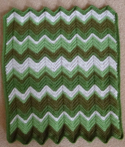 Irish Green Blanket 05