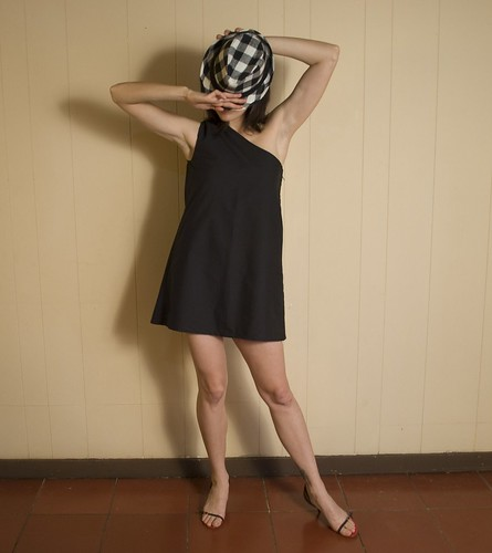 vestido: one side black
