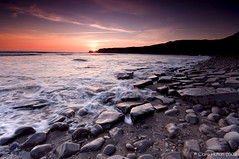 (Claire Hutton) Tags: kimmeridge dorset southwest england uk jurassiccoast isleofpurbeck purbecks coastal coast sea bay water beach ocean rocks ledges cliffs sunset broadbench sun longexposure leefilters waves 09ndgrad 06ndgrad 03ndgrad