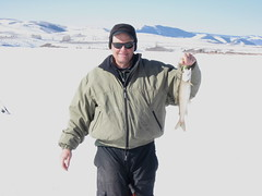 Eric With a Williams Fork Lake Trout (fethers1) Tags: icefishing laketrout williamsforkreservoir