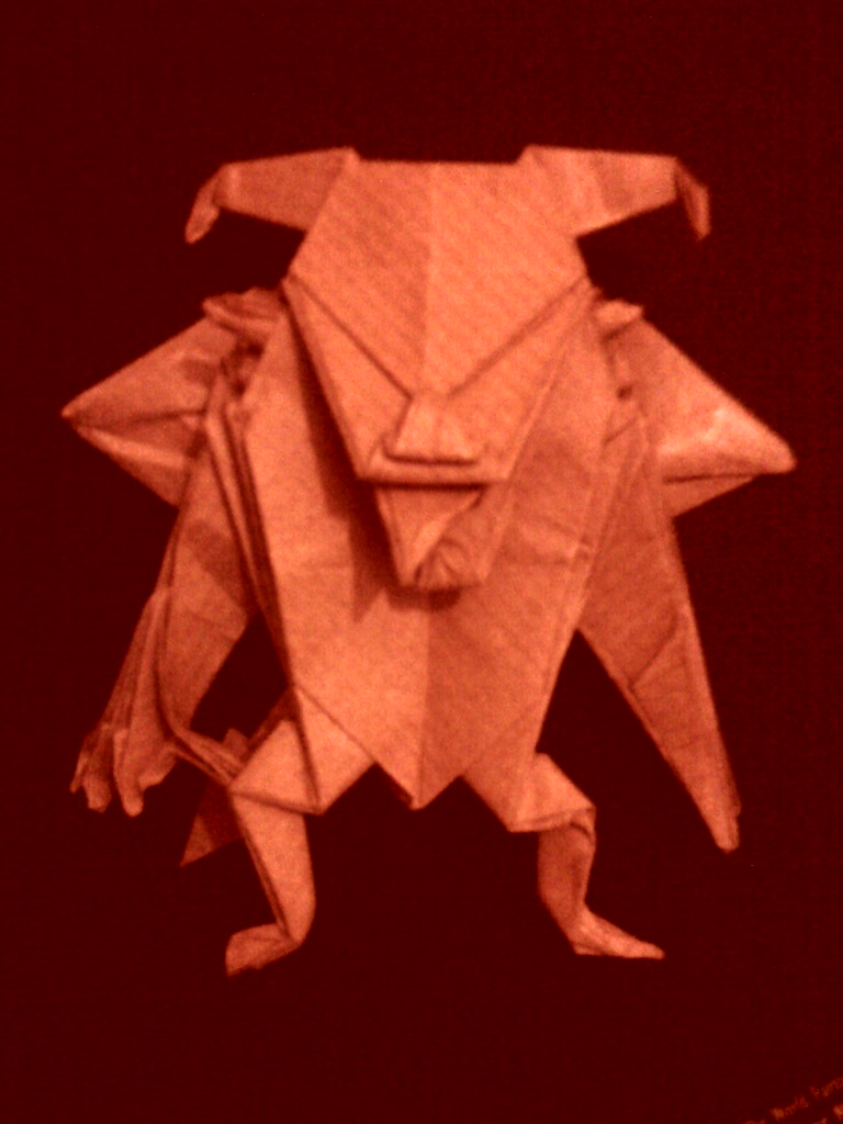 Jun Maekawa Devil Foldingtype Tags Origami