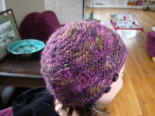 Drop Stitch Knit Hat Pattern : Ravelry: Drop Stitch Hat with Button-On Ear Flaps pattern by Sami Kaplan