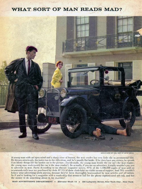 Vintage Ad #783: What Sort of Man Reads Mad?