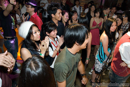 Nuffnang Music Bash '09 Crowd