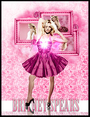 Britney Spears Pink (nick art) Tags: pink art toxic lady candy spears circus nick britney candies gaga roze womanizer