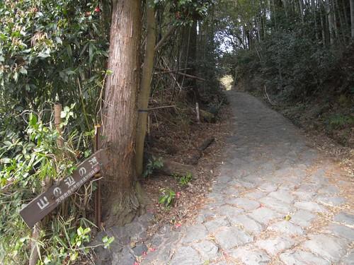 「山の辺の道」@天理-坂道