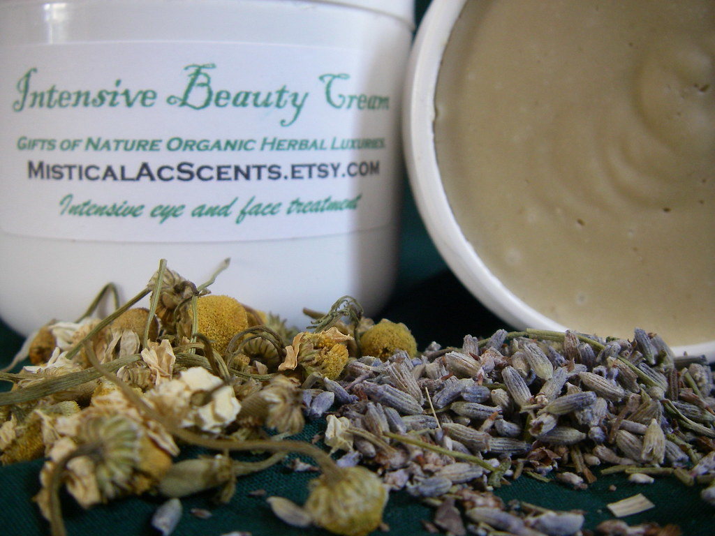 Organic Intensive Beauty Cream by MisticalAcScents.etsy.com