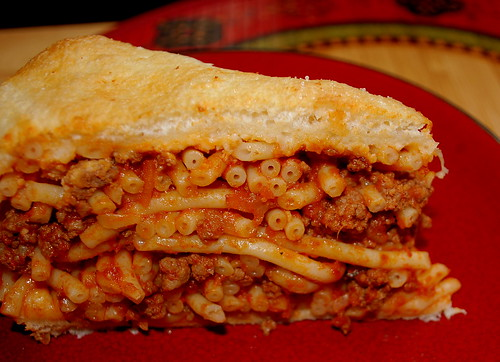 Spag Pie slice
