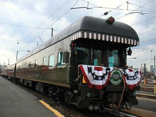 Train Chartering - Private rail car New York Central 3 NYC3, Sunnyside Yard, New York