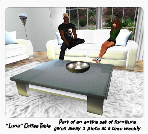 Luna Living Room Set