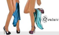 Qouture shoe ad (qouture) Tags: 2 shoe ad adriana cortez sims2 sims simpeople qouture
