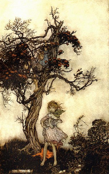 Arthur Rackham, Rip van Winkle, 1905