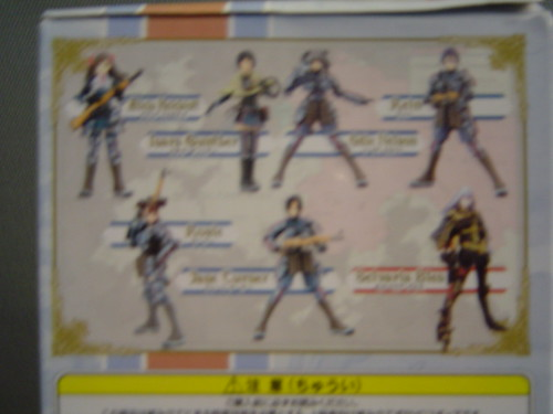 Valkyria Figurine Box - Back