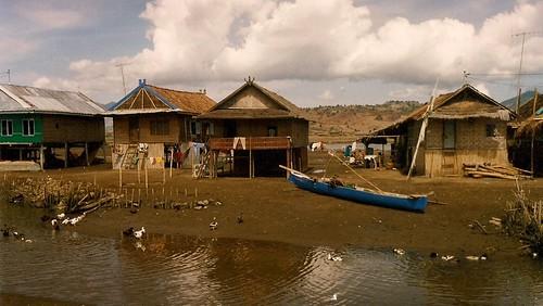 Labuan bajo stilt houses