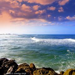 Breaking Waves On the Jetty (Chris C. Crowley) Tags: seascape clouds rocks surf waves florida jetty horizon scenic surfers ponceinlet travellersworld yourworldonlycolorfulpictures walkinginbeauty daytonabeacharea chriscrowley yourbestphotography celticsong22 scenicsnotjustlandscapes ~ilovenature~ breakingwavesonthejetty