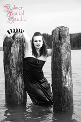 Barnes_Racheal_BW_45 (Palmer Digital Studio) Tags: wood red white black beach water yellow trash river dark model dress grove gothic goth columbia willow gloves filter shore bridesmaid mayhem strapless striped drift 845531 1117947