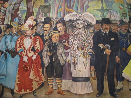 The history and important influence of the mexican muralist movement