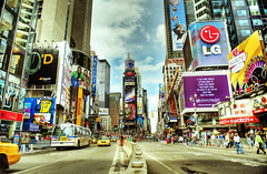Enjoy the advertisements (Tony Shi Photos) Tags: nyc newyorkcity manhattan 42ndst best timesquare timessquare hdr newyorktimes timessq theaterdistrict ihateyou timesq   tsq     thnhphnewyork  tonyshi  crossroadofworld