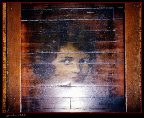 the Face on the Barroom Floor - Central City CO 2000-1-040E-1