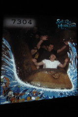 Uncle Nick and mommy on Splash Mountain