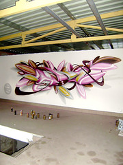 last saturday (mrzero) Tags: building art abandoned lines wall effects graffiti 3d paint hungary eger letters style spray colored spraypaint cans graff zero cfs mrzero