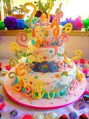 BOLO - ZOE - SWEET SUGAR ATELIER DO ACAR, BY MICHELLE LANZA!! (SWEET SUGAR By Michelle Lanza) Tags: branco zoe sweet sugar bolo cor oficial brilho artistico gravidade arebescos